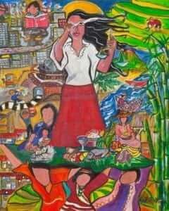 world day of prayer artwork. Donna Power will be the invited speaker for a Brisbane church service for the World Day of Prayer which was prepared by women in the Philipines.