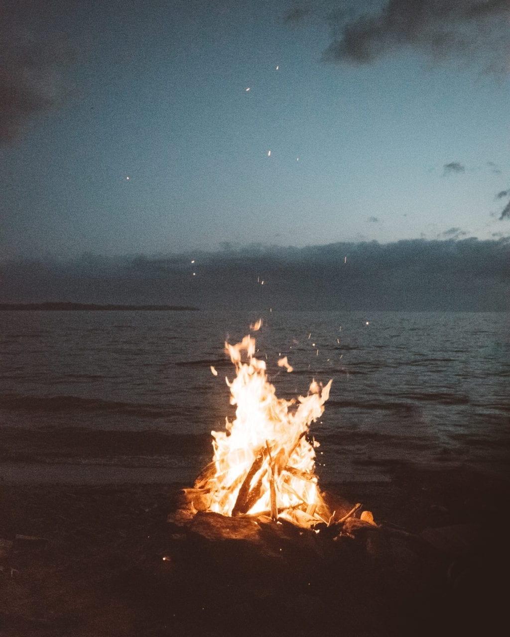 soul is like a campfire